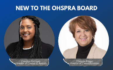 New to the OHSPRA Board
