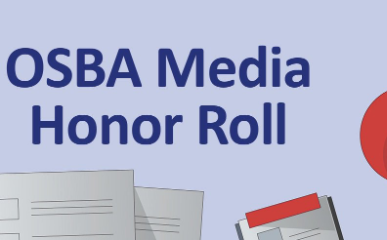 OSBA Media Honor Roll accepting nominations